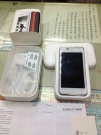 流當品 HTC J(Z321E)日系美型手機/4.3吋/ 支援亞太威寶遠傳 9.5成新空機(白)
